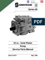 Series 90 42 cc Pump Service Parts