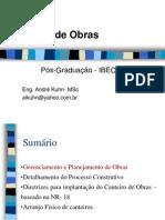 I - 2010-03-14- Gerenciamento e Planejamento de Obras