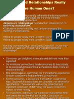 Brand Relationships -Branding Strategy