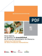 Gestión Trazabilidad Navarra