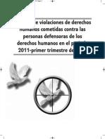 Informe de Violaciones