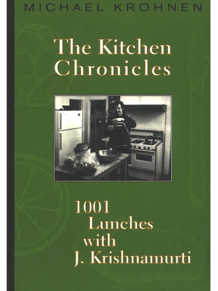 Michael Krohnen The Kitchen Chronicles 1001