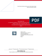 La Cooperación Académica y Científica Como Dimensión de La Política Exterior