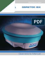 GSR 2700 ISX - Operations Manual