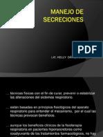 Manejo de Secresiones
