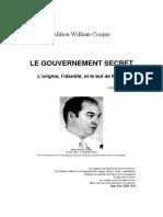 Cooper Milton William - Le Gouvernement Secret