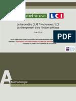 OpinionWay - Le barometre CLAI Metro  LCI du changement dans laction politique_Juin2014.pdf