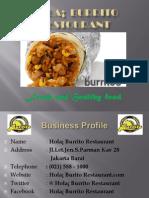 Business Plan Burito