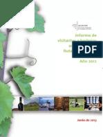Anexo - Análisis de Visitantes a Bodegas RVE 2012
