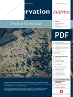 Conservation - The First World War
