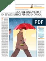 Por Qué Las Crisis Bancarias Suceden en EE.uu. Pero No en Canadá_El Comercio 9-06-2014