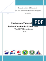 Guidance on TB Patient Care for the Urban Poor (The RJPI Experience) 2014