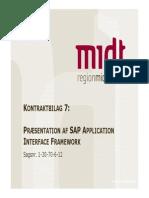 Kontraktbilag 7 SAP AIF Logistikydelser