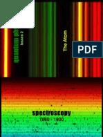 The atom spectra