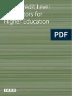 SEEC Level Descriptors 2010