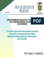 Gestion Integral de Residuos Electronicos