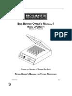 Side Burners Manual