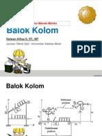 05. BALOK-KOLOM -Analisa Struktur Metode Matriks