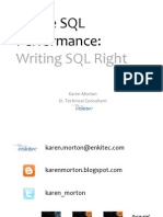 2014 05 20 Writing SQL Right Antipatterns