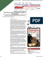 05-06-14 Firman SEDATU y Gobierno de Guerrero Acuerdo Para Dar Certidumbre Legal a 10 Mil Familias