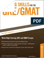 Writing Skills for GRE
