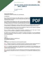 Texto Unificado Libro II MAGAP