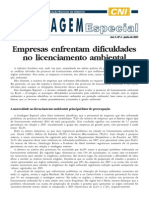 CNI Licenciamento e Gestão Ambiental 2007