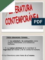 Temas y rasgos propios de la literatura contemporánea.[1] (1).ppt