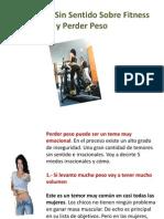 5 Temores Sin Sentido Sobre Fitness y Perder Peso