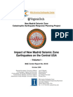 Impact of NMSZ Earthquakes on the Central USA