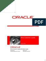 Oracle Customer Loyalty DanielBurian MichalZboril