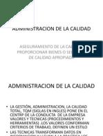2014 Administracion Calidad