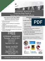 Citizenship Workshop