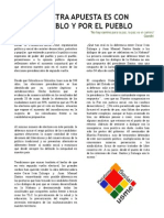 Comunicado Oficial PSU 08 Junio 2014