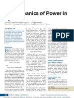 Biomechanics of Power in Sport.4