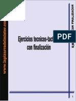 96806451 Ejercicios Tecnico Tacticos Con Finalizacion
