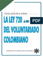Ley 720 del 2001