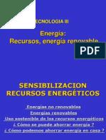 , Energía, Recursos, Energía Renovable