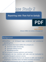 Case Study 2- Repairing Jobs That Fail to Satisfy
