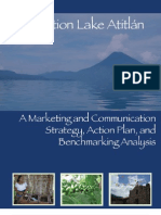 Marketing and Communication Strategy Action Plan and Benchmarking Analysis Lake