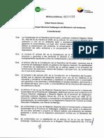Resolucion 0055 06-06-2013 Aprobar EsIA Operacion Yate Daphne