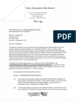 24 Feb 2012 BIA Recommends Reversing Pala Disenrollments