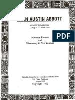 John Austin Abbott Biography