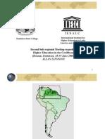 Presentacion National Report on in Suriname. Allan Li Fo Sjoe