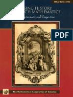 Using History to Teach Mathematics