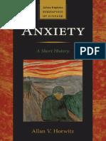 Anxiety a Short History, 1e