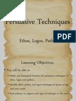Ethos Pathos Logos Present