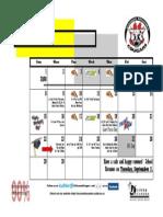 June 2014 Calendar
