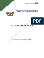 Management Operational