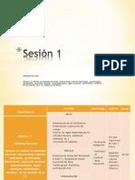 Sesión 1